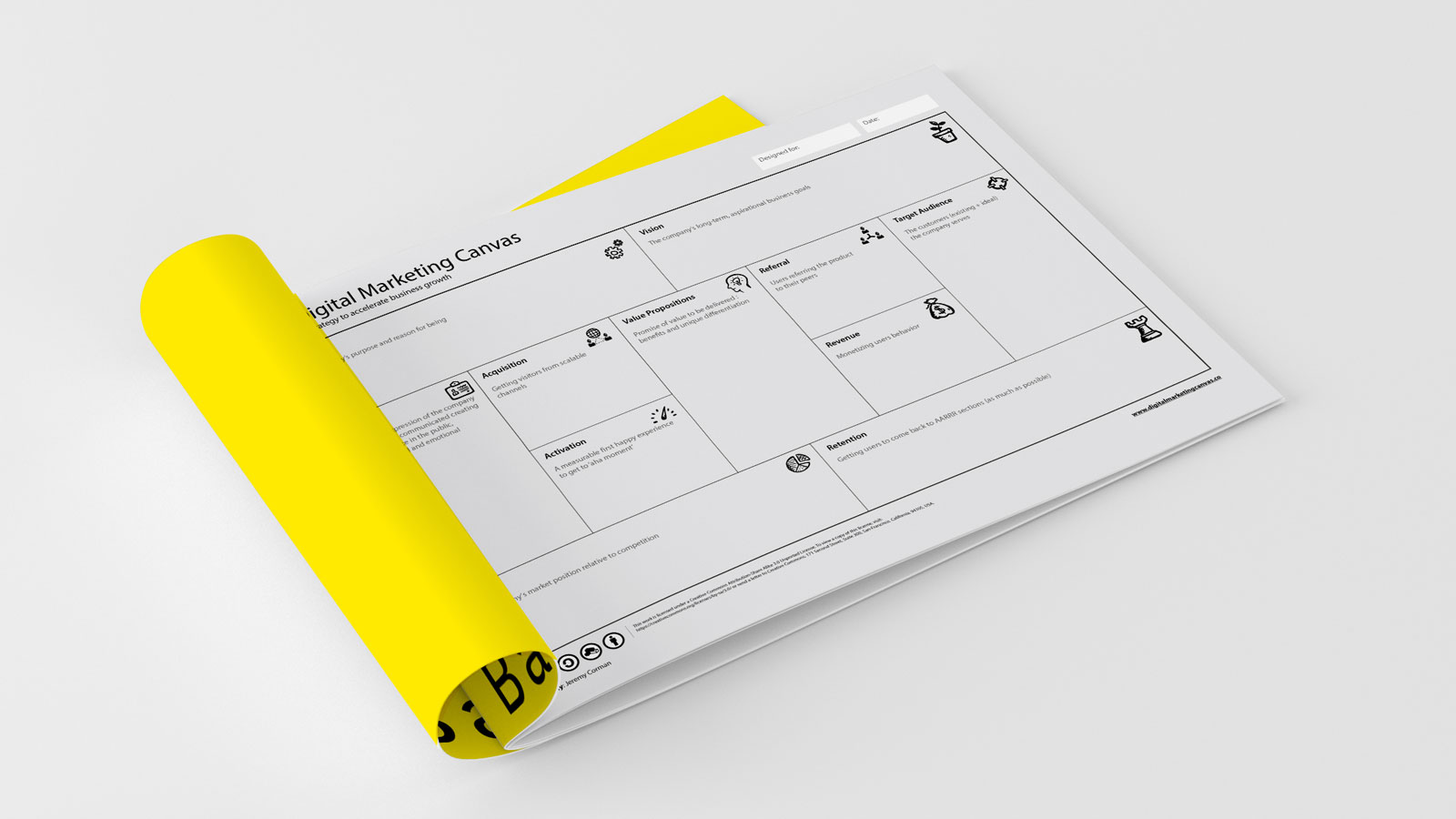 marketing canvas template